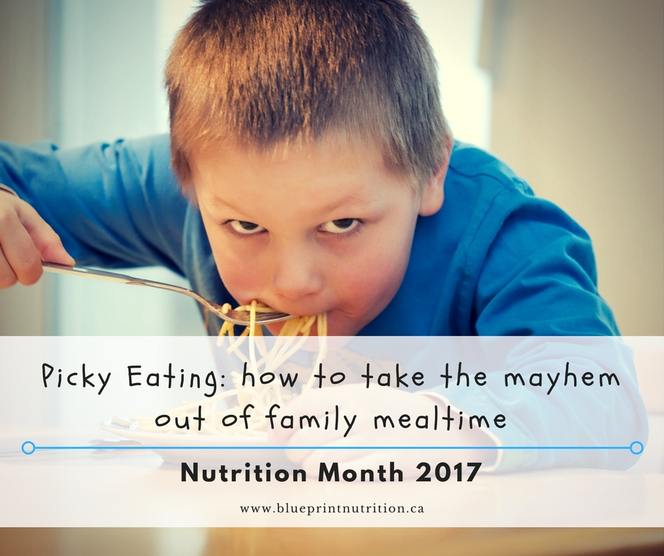 Picky Eating: how to take the mayhem out of mealtime