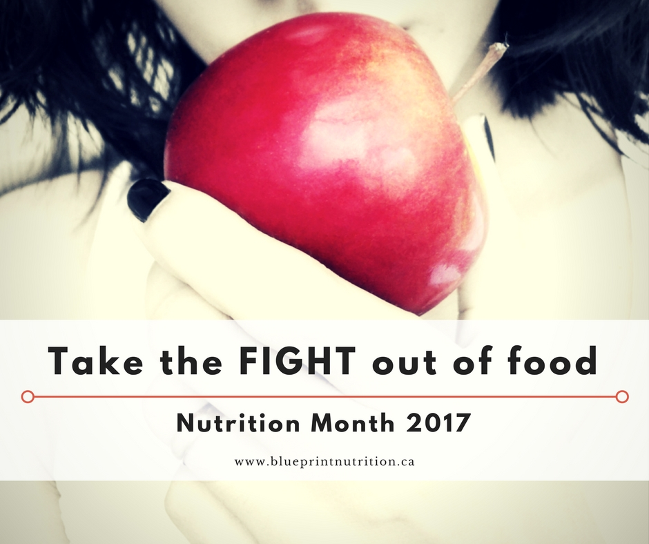 Take the FIGHT out of food!