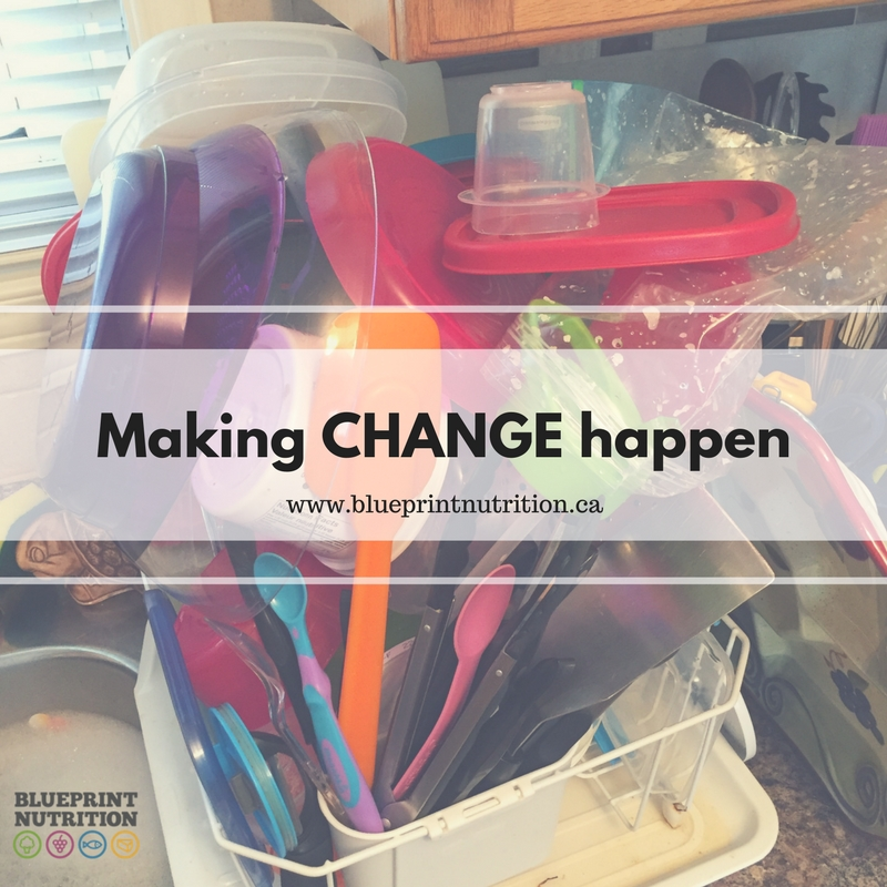 Making change happen
