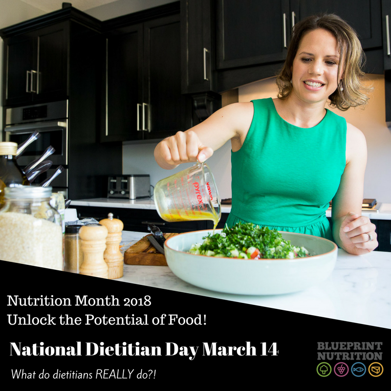 National Dietitian Day: what do dietitians REALLY do?