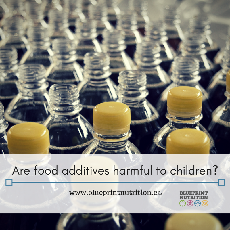 Are food additives harmful to your children?