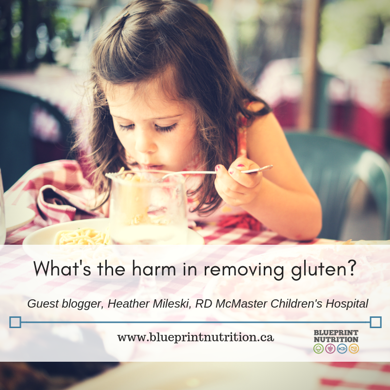 What's the harm in removing gluten?