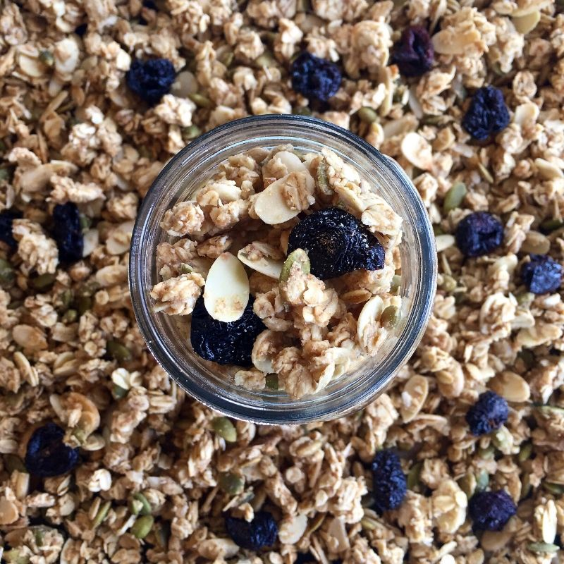 5-Minute Healthy Granola Recipe