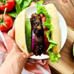 Black bean 'n beef burger recipe
