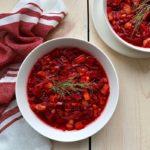 vegan beet borscht